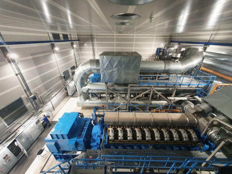 Системы SCR и теплообменники отработанных газов для электростанции в Восточной Европе
