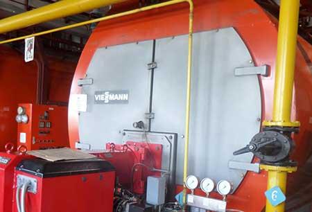 Промышленные паровые котлы Viessmann круглосуточно работают более 17 лет